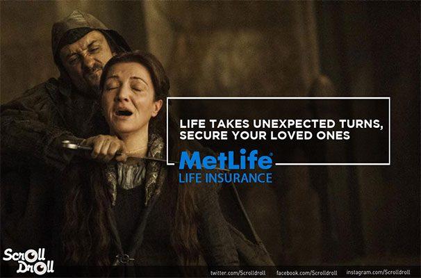 Catelyn-Met-Life-Ad