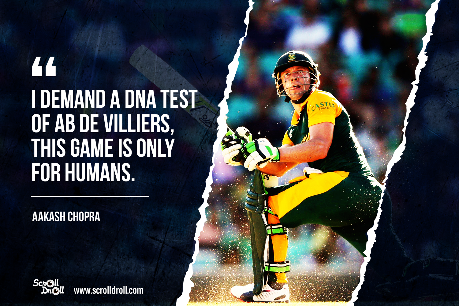 13 Best Quotes On The Cricket King- AB de VillIers