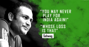 11 Times Virender Sehwag Proved There Will be No One Like Him