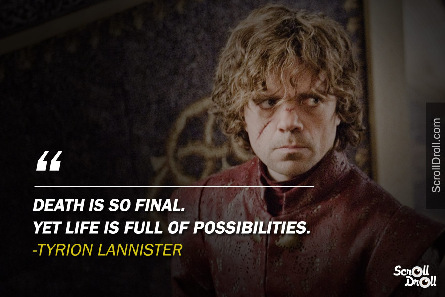Game Of Thrones Best Quotes 20 Scrolldroll