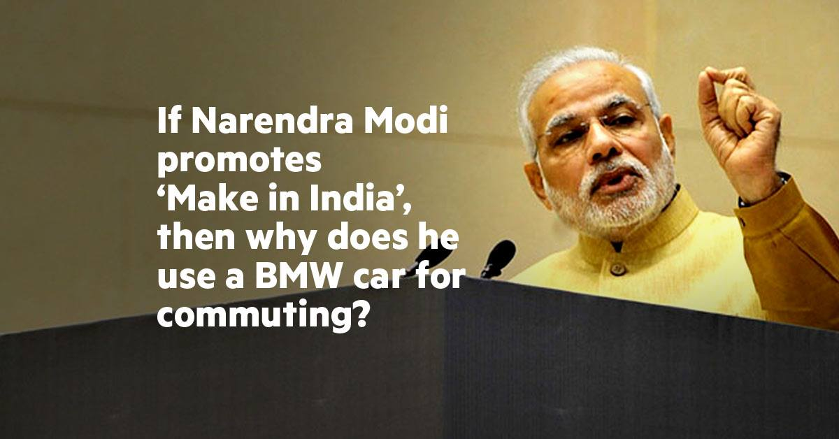 Quora User Perfectly Explains Why PM Narendra Modi Uses A