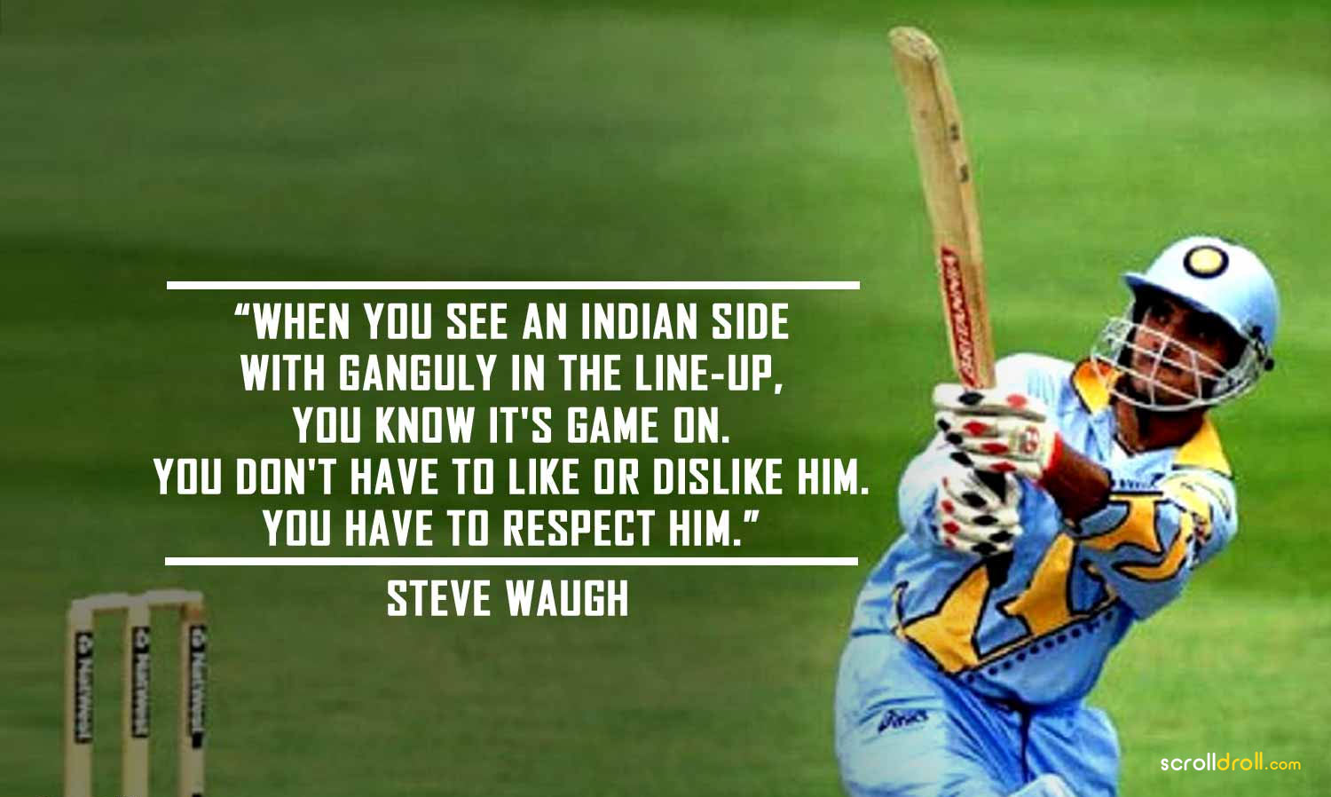 Quotes on Sourav Ganguly (3)