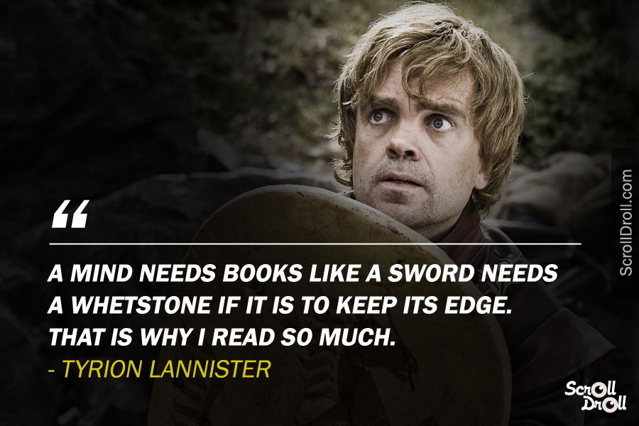 Tyrion Lannister Quotes (1)   ScrollDroll