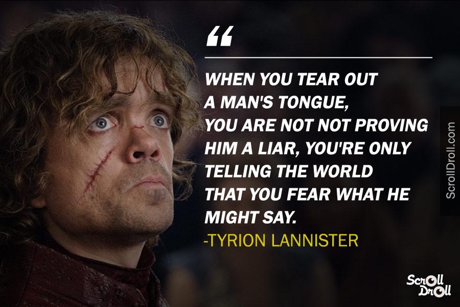 Tyrion Lannister Quotes (16)