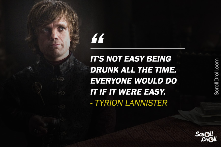 Tyrion Lannister Quotes (3)