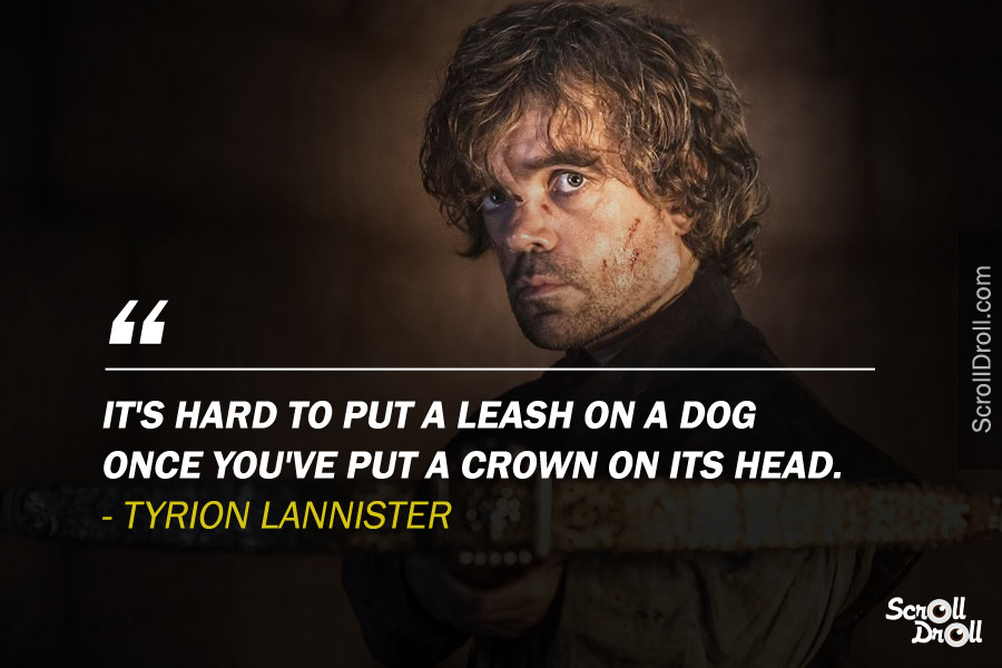 Tyrion Lannister Quotes (4)