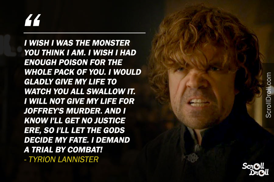 16 quotes from tyrion that make him the most loved got