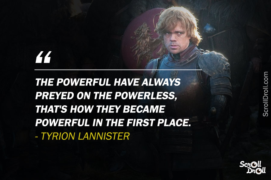 Tyrion Lannister Quotes (9)