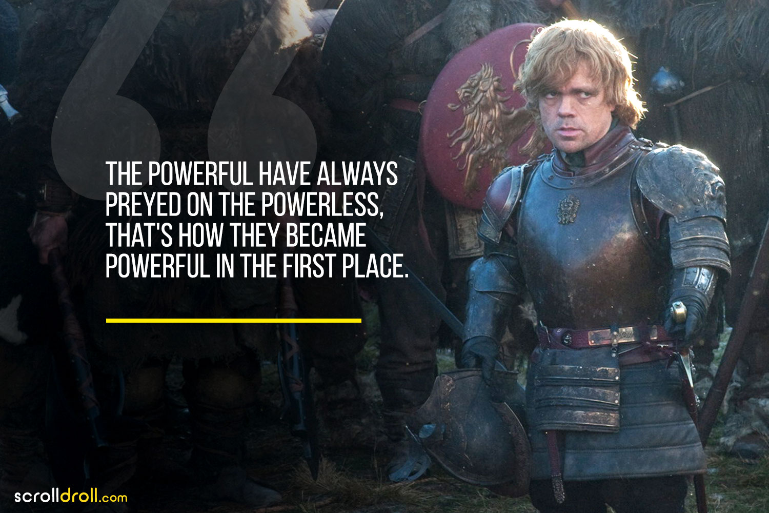 Tyrion- tyrion easter quotes