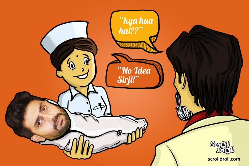 Abhishek Bachchan Born Nurse Said