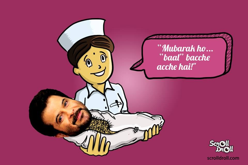 Anil Kapoor Born Nurse Said