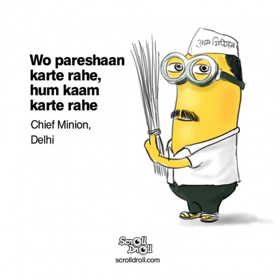 arvind kejriwal Minion