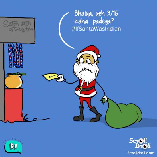 If Santa was Indian