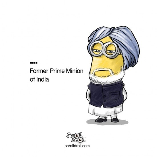 Manmohan Singh Minion