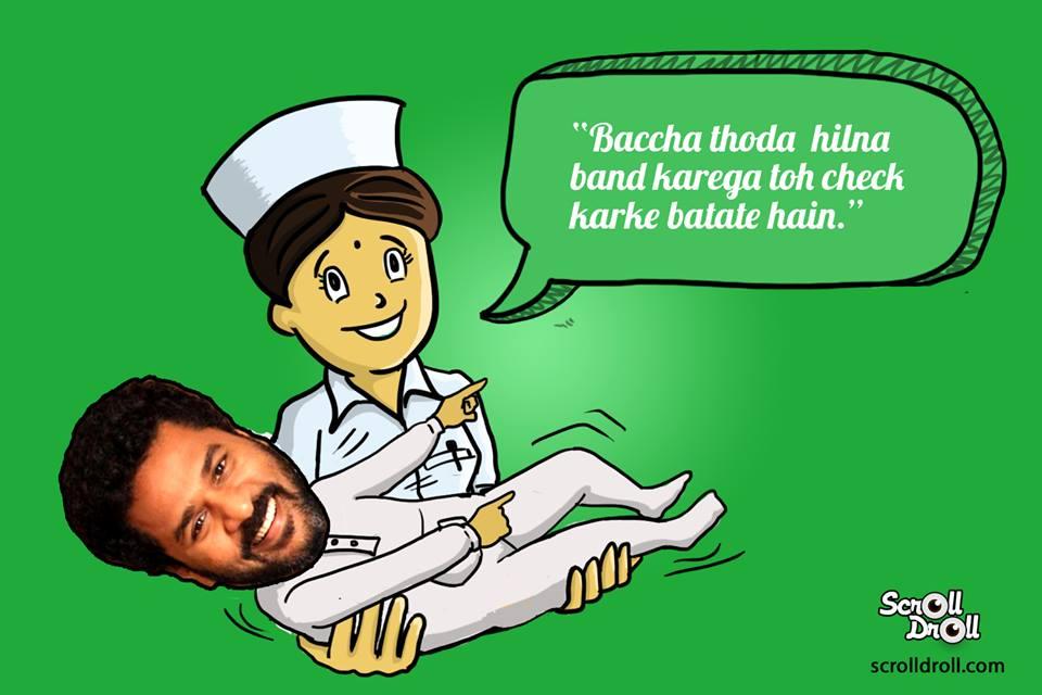 Prabhu Deva Born Nurse Said