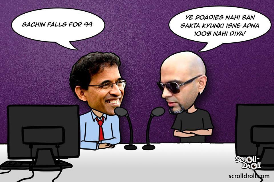 Raghu As Commentator