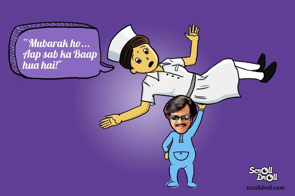 Rajnikanth Born Nurse Said