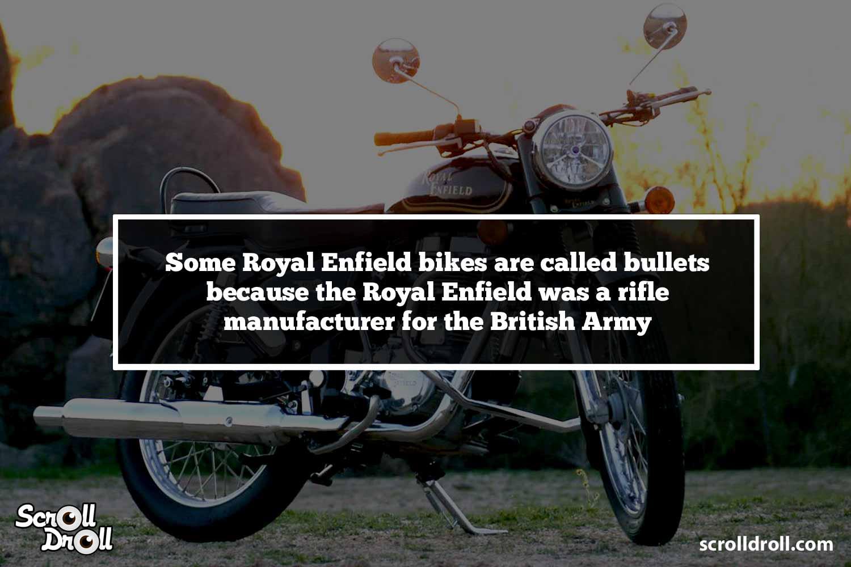 Royal Enfield - Interesting Facts (5)