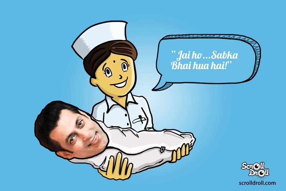 Salman Khan Born Nurse Said