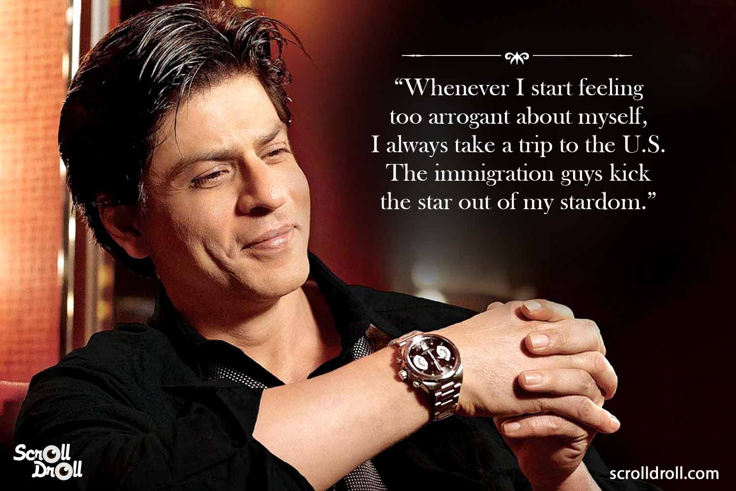 12 Srk Quotes That Will Give You Humour Goals
