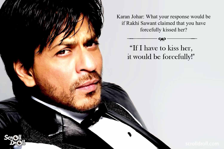 Shahrukh Khan Witty Lines (2)