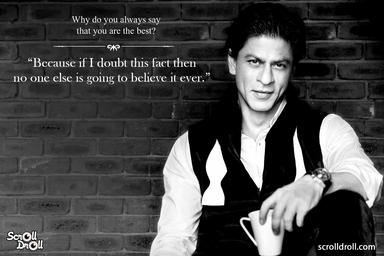 Shahrukh Khan Witty Lines (5)