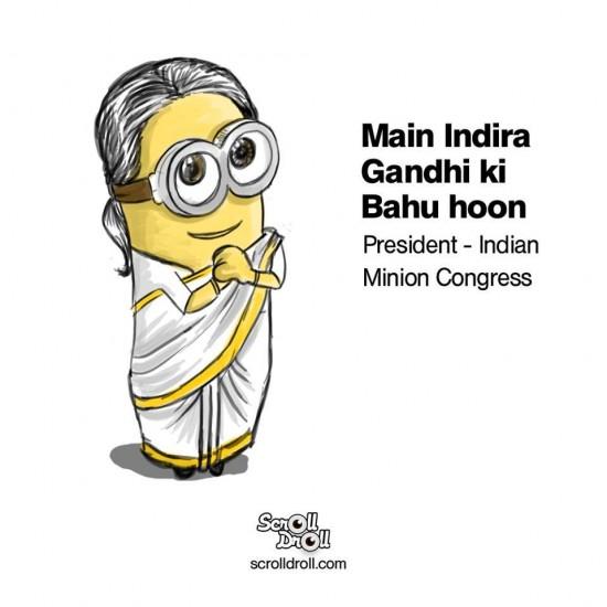 Sonia Gandhi Minion