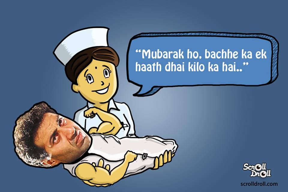 Sunny Deol Born Nurse Said