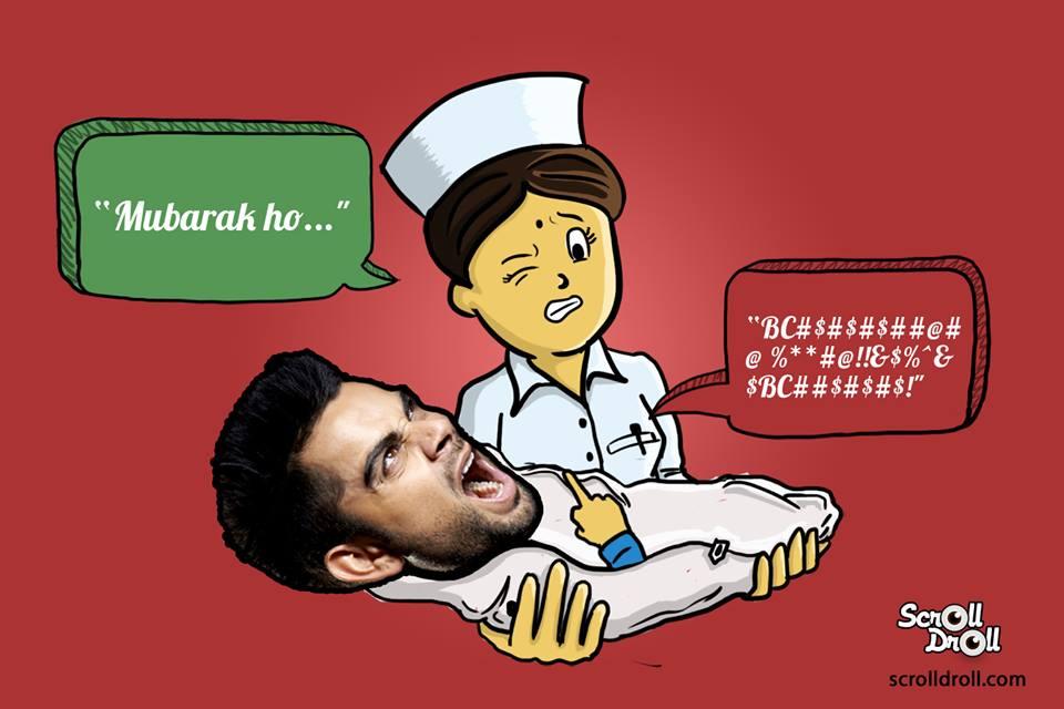 Virat Kohli Born Nurse Said