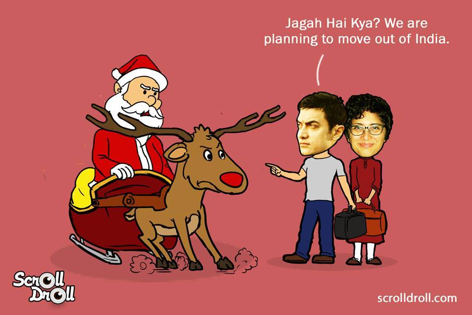 When Aamir Khan Met Santa