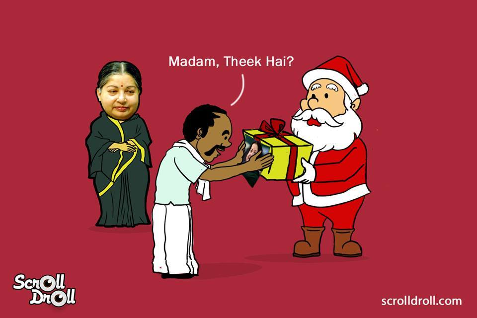 When Jayalalita Met Santa