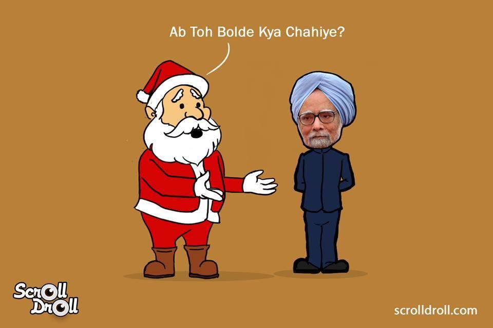 When Manmohan Met Santa
