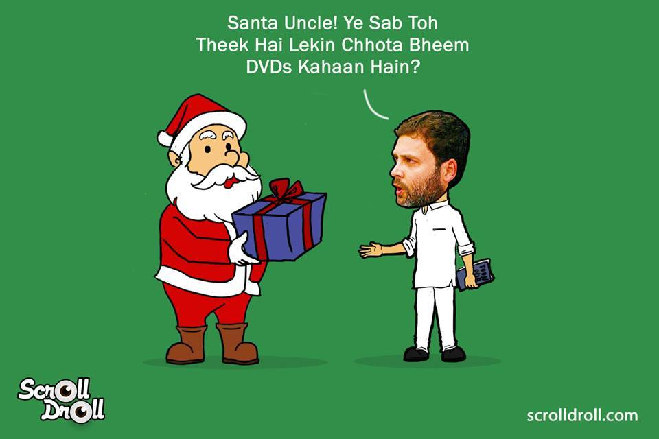When Rahul Gandhi Met Santa