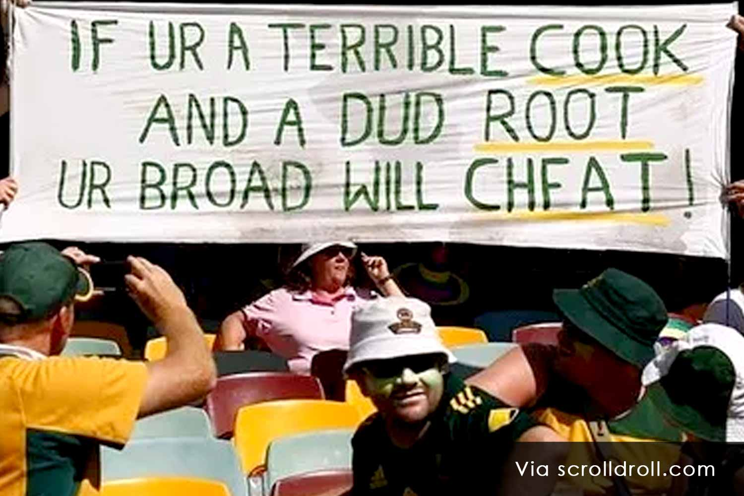 Witty Banners At Cricket Matches (11)