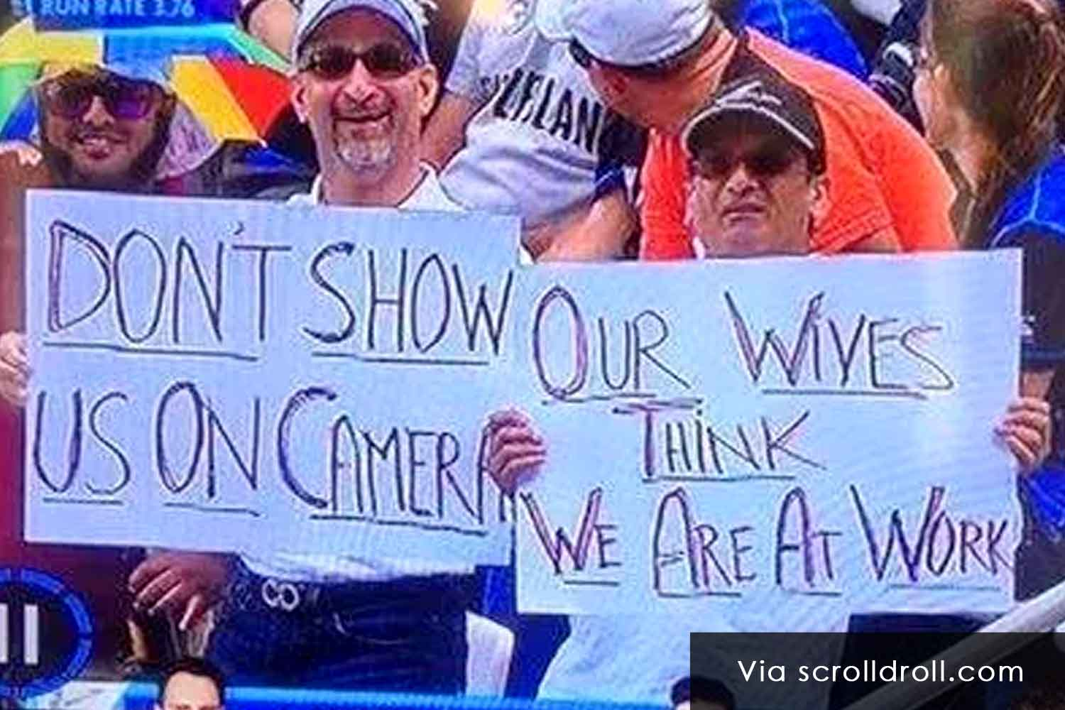 Witty Banners At Cricket Matches (18)