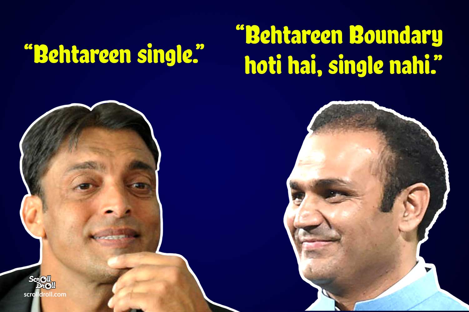 Sehwag commentary