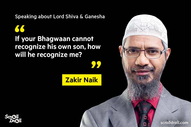 Zakir Naik Controversial Statements (1)