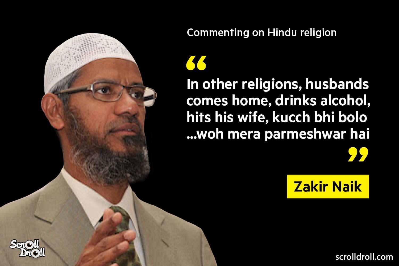 Zakir Naik Controversial Statements (4)