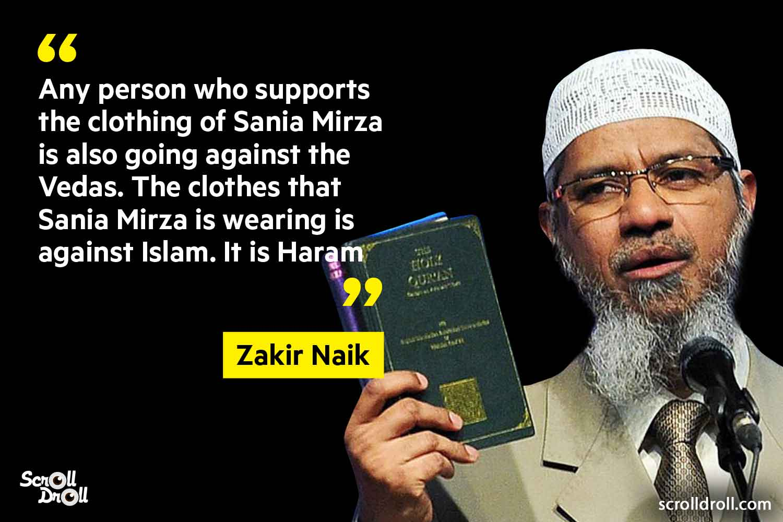 Zakir Naik Controversial Statements (5)