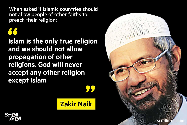 Zakir Naik Controversial Statements (8)
