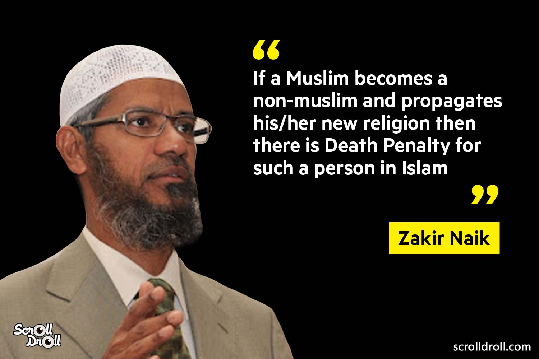Zakir Naik Controversial Statements (9)