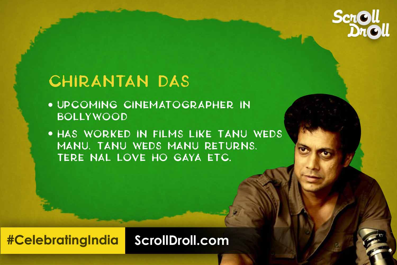 Odisha in Bollywood - Chirantan Das