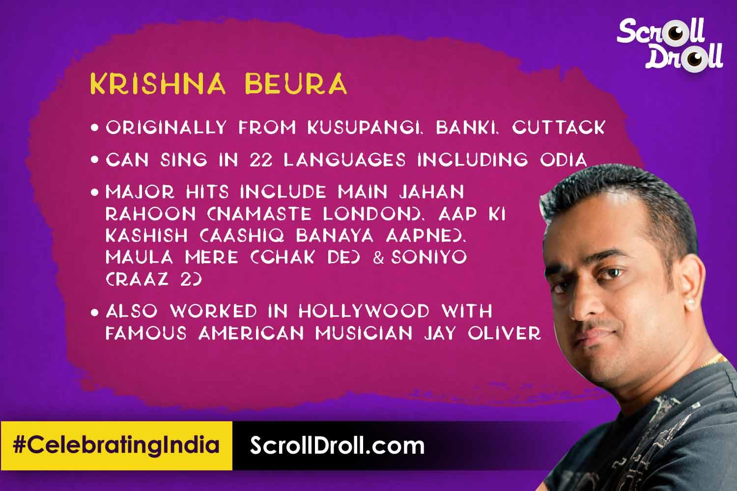 Odisha in Bollywood - Krishna Beura