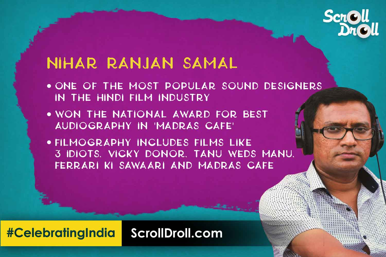 Odisha in Bollywood - Nihar Ranjan Sama