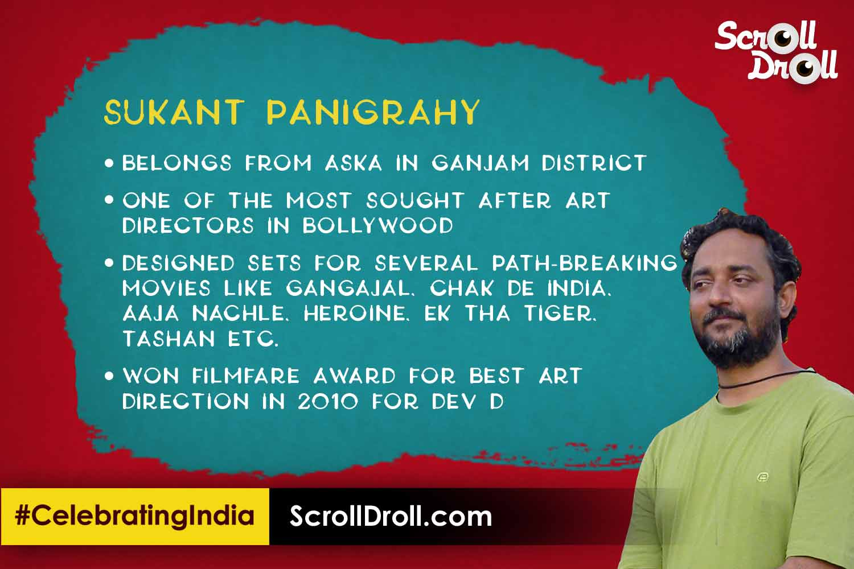 Odisha in Bollywood - Sukant Panigraphy