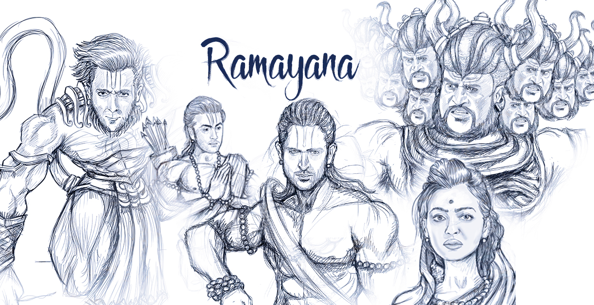 The most epic bollywood ramayana star cast ever