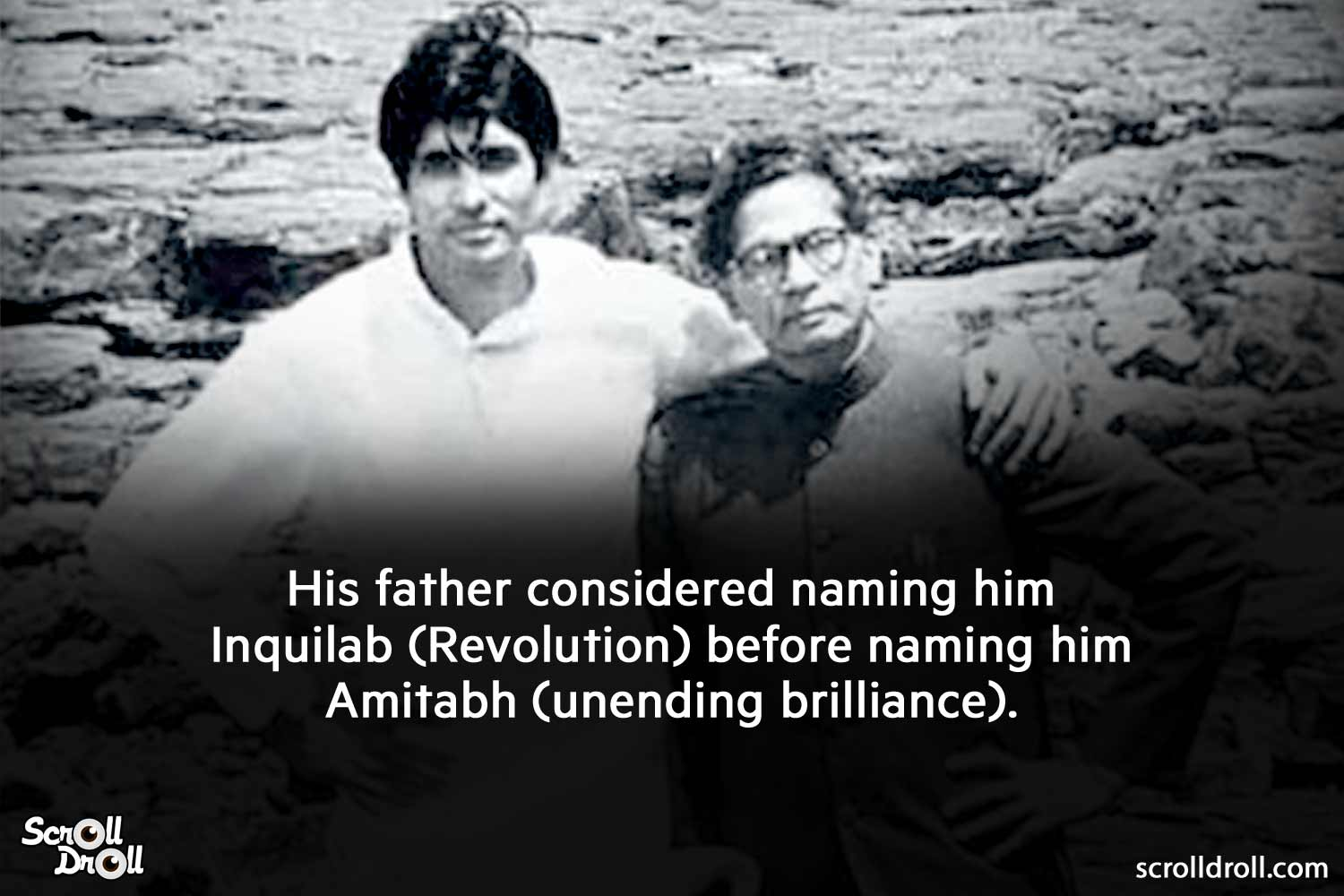 amitabh's fathe considered naming him inquilab-amitabh bachchan facts