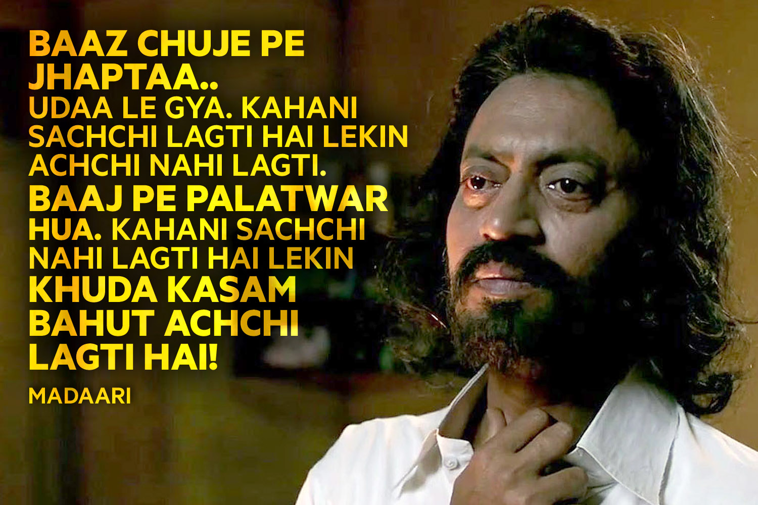 14 Best Irrfan Khan Dialogues Over The Years