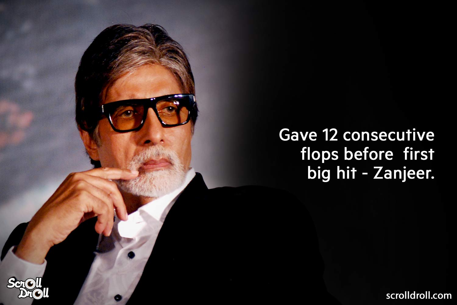 give 112 consecutive flops before first big hit zanjeer-amitabh bachchan facts