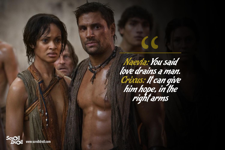 Crixus Quotes